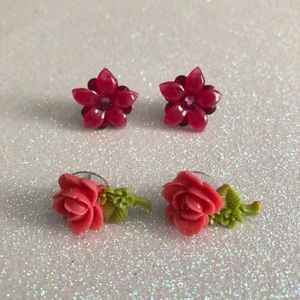 Tarina Tarantino Flower Earrings